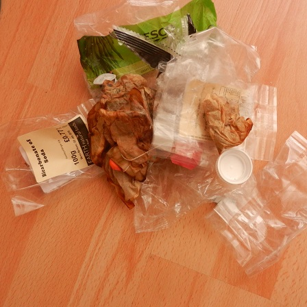 Unrecyclable kitchen waste