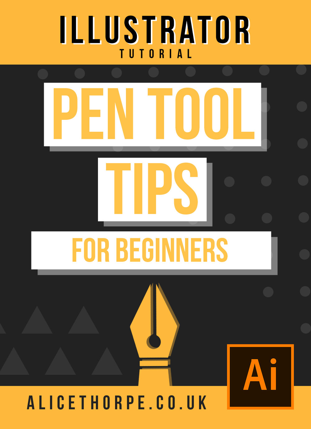 Using The Pen Tool: Beginners Guide | Adobe Illustrator