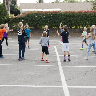 Games - Sports and games allow the students to develop a healthy sense of self and space and to move with intention. The early grades offer social and rhythmic games, circle games, hand-clapping games, beanbag activities, and jump ropes. The emphasis of games in the early grades is on working together as a group, and the games become increasingly more individualized in the middle school years. The fifth grade learns the events of the Greek pentathlon: javelin, discus, long jump, wrestling, and running. In May, they join other Southern California Waldorf schools in an Olympiad.Lower grades students have recess outside twice a day regardless of weather. Sixth grade brings a focus on medieval games, with a similar spring contest of area Waldorf schools.