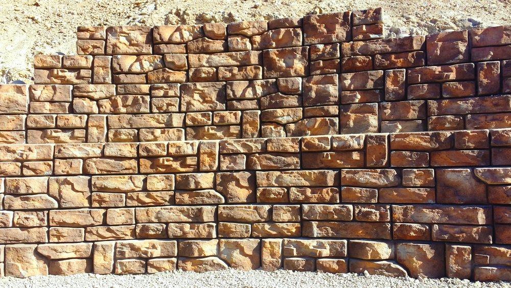 Big Block Retaining Walls - REDI ROCK, ULTRA BLOCK, RECON