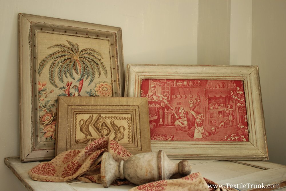 Framing Antique Fabric