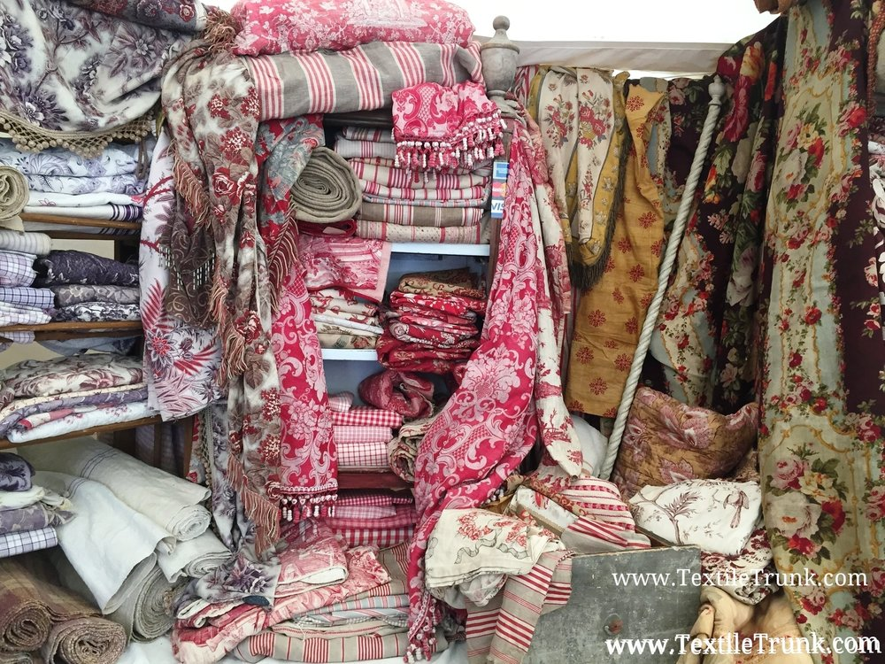 Brimfield Antique Textile Show