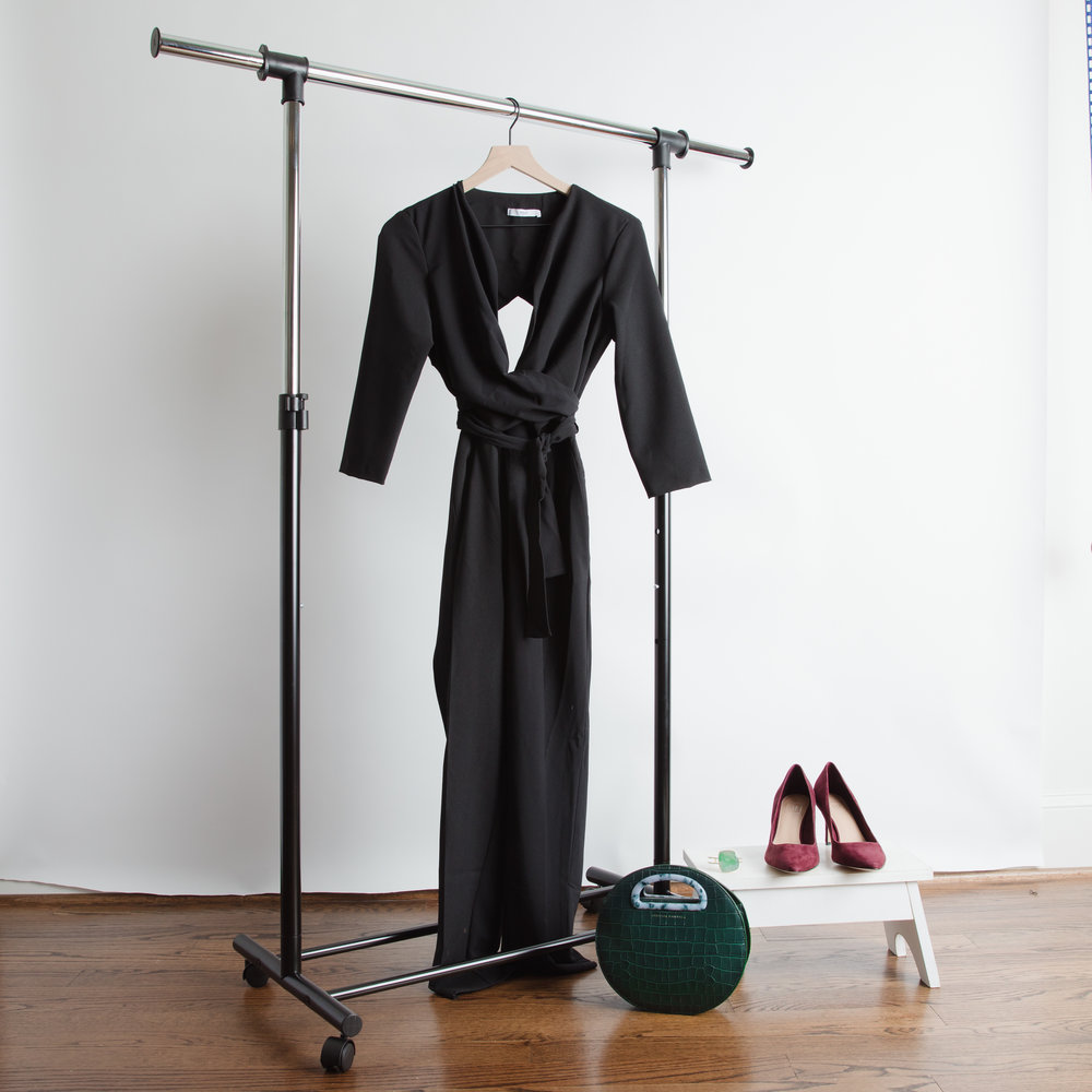 get the looK - Jumpsuit - Mango, Gap, Madewell or Banana RepublicShoes - Anthropologie, Amazon,or AnthropologieCuff - AMDKBag - Zappos