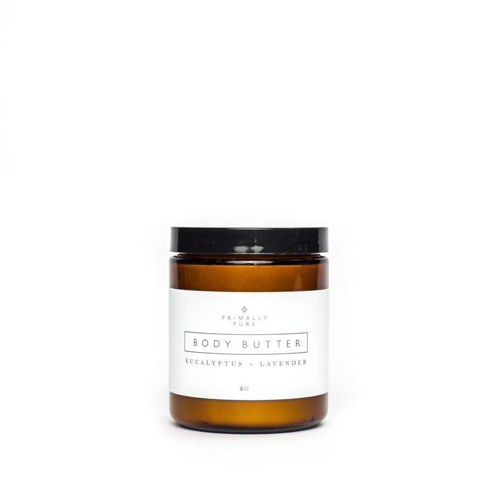Primally Pure Eucalyptus Lavender Body Butter