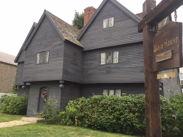 The Witch House is the only structure in Salem still standing that has a direct tie to the Witch Trials of 1692-3 (twenty years after Anne's death).