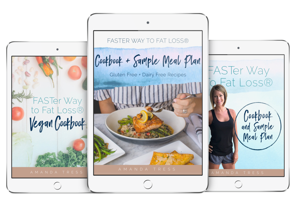 FASTer Way to Fat Loss® Triple Pack Cookbooks -