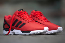 Adidas ZX Flux Poppy Red