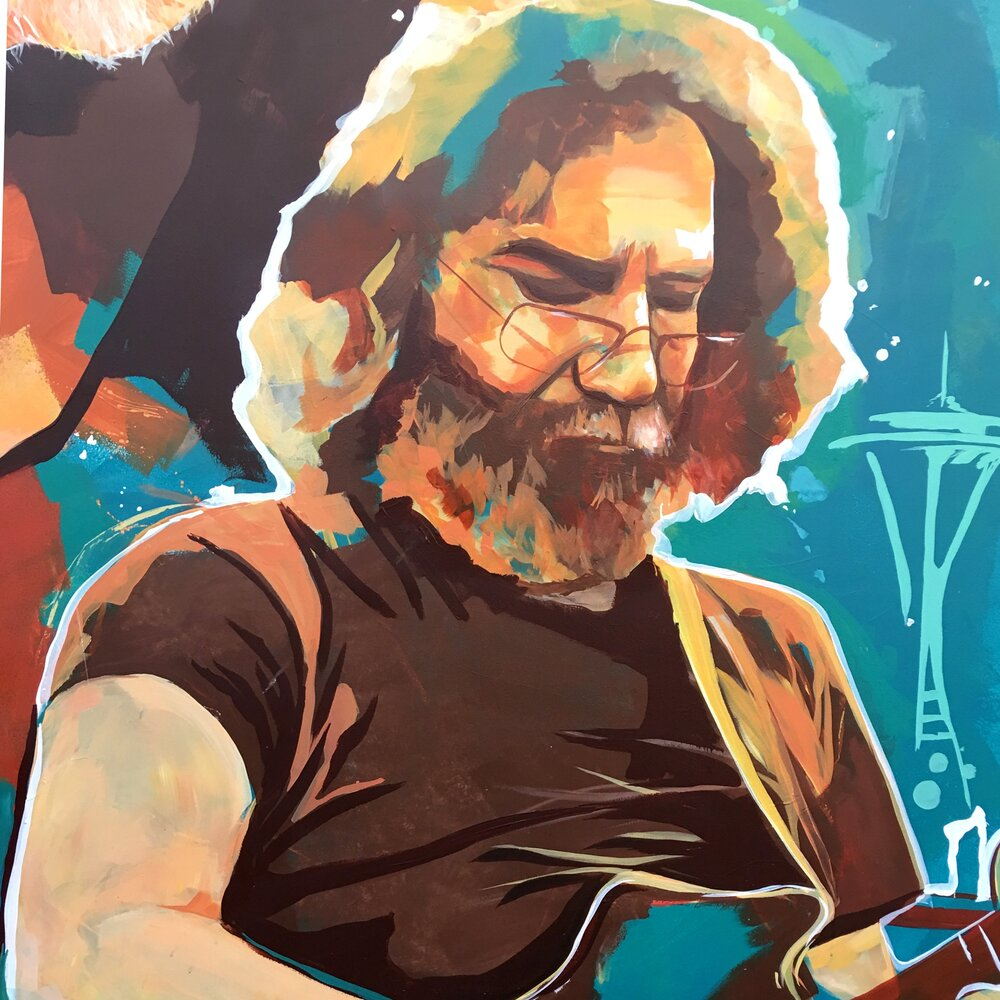 Jerry Garcia as a Work in Progress