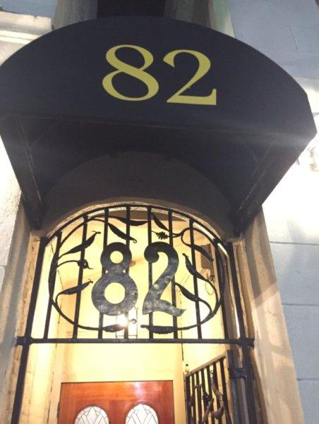 82 Queen restaurant.