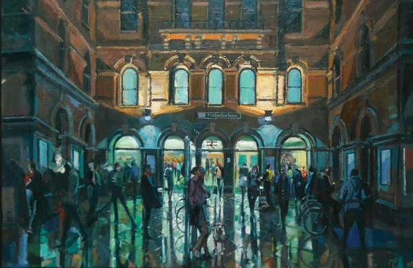 Peckham Rye Station by Mark Pearson