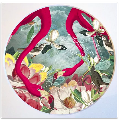 Flamingo Alex Gallagher, The Curators Salon.png