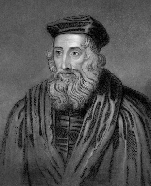 Copy of John Wycliffe (1330-1384)