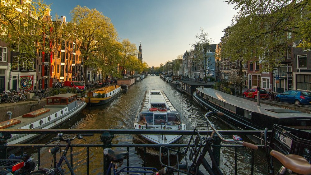 The Canals - Amsterdam, Netherlands