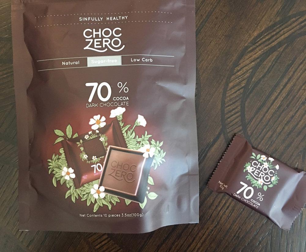 // CHOC ZERO - 70% Cocoa Dark Chocolate