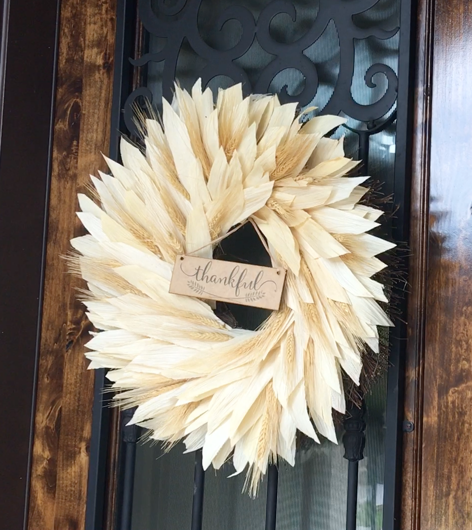 Home Goods fall wreath