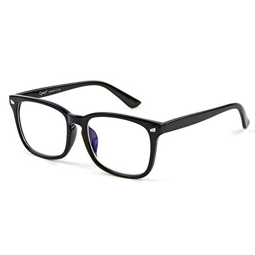- Blue light blocking glasses