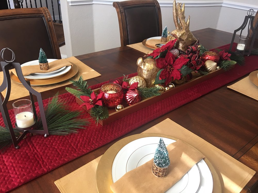 christmas tables cape