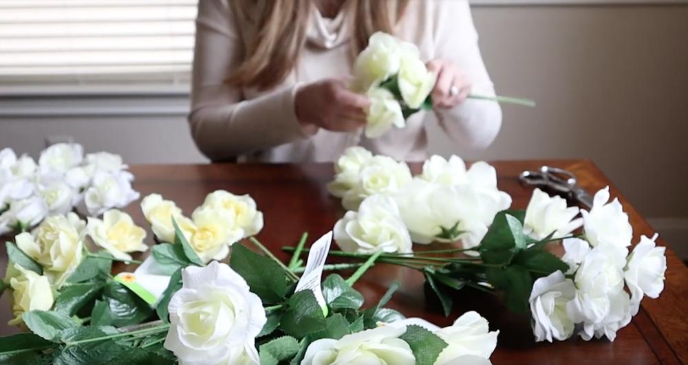 remove stem florals