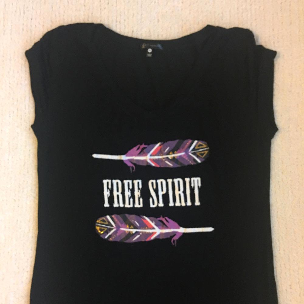 teeshirt free spirit