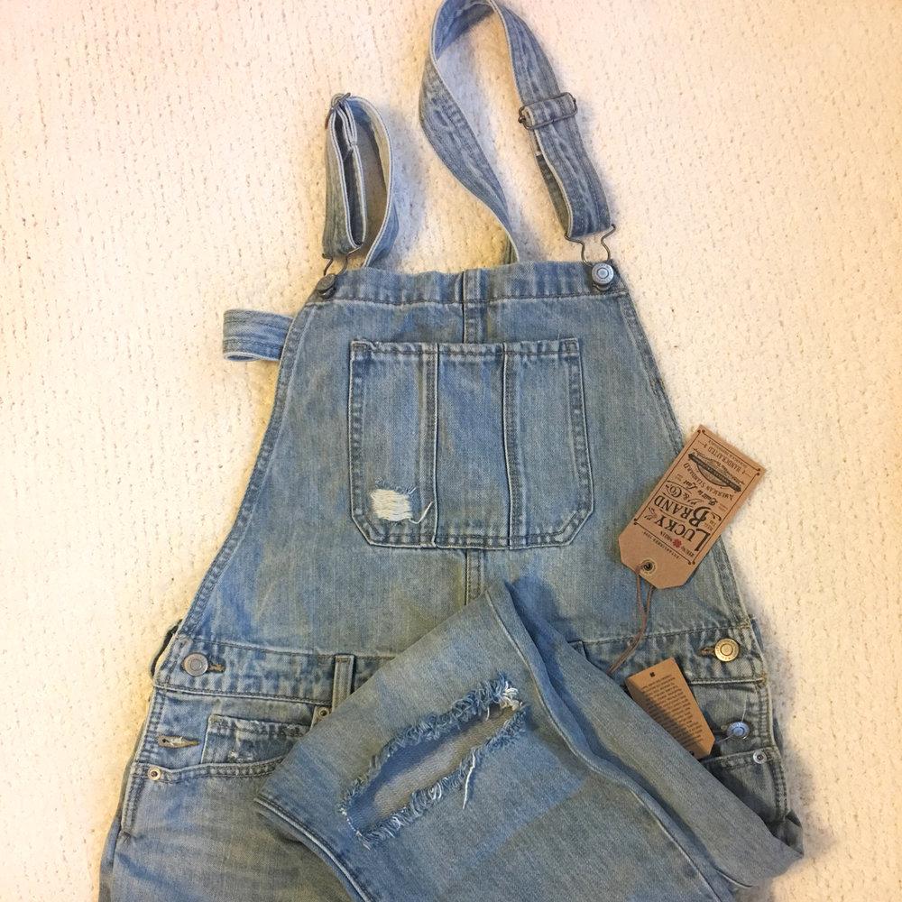 lucky brand overalls women