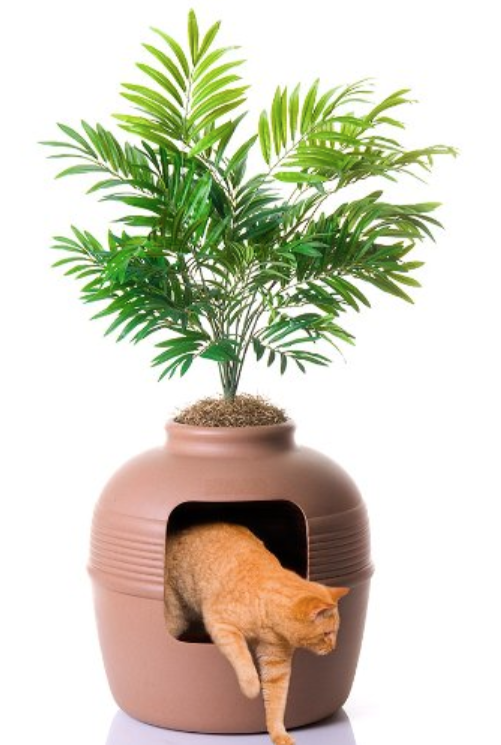 Planter Litter Box - Great for large cats