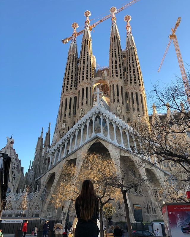 Sagrada Família #sagradafamilia #barcelona #cathedral #travel #travelphotography