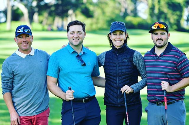 We're so grateful for all the players and celebs that made this @birdiesforbreastcancer event a success! #birdiesforbreastcancer #golf #lpga #theolympicclub #charity