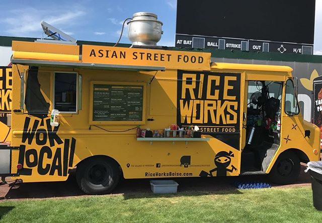 Hibernation is over!!! Look for us at Treefort on Thursday!! #foodtruckseason #riceworks @treefortfest #letusfeedyou #suppotlocal #music #festival #riceworksasianfood #fusion #ricebowls #eggrolls