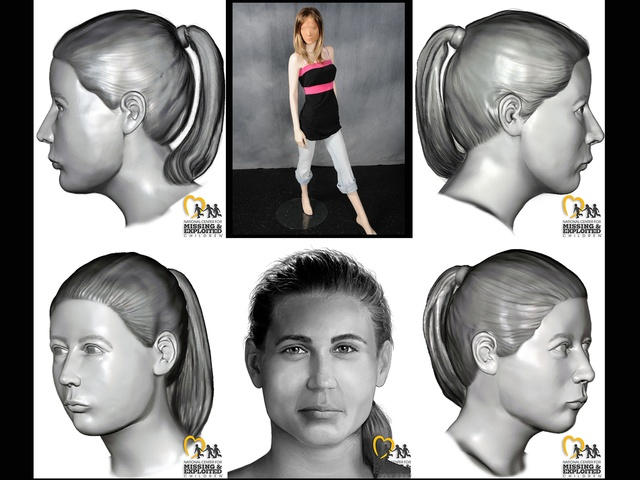 Fond du Lac County, WI, Jane Doe - Facial approximations
