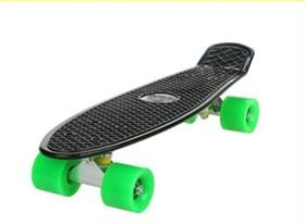 A skateboard that looks like the one Sam Davis left with on the morning on June 29th.