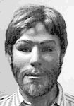 Barron County John Doe shown with facial hair