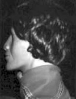 The side view of the facial-reconstruction of East Troy John Doe.