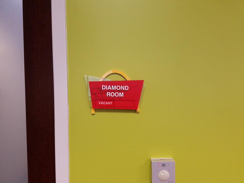 Ronald McDonald House Room Sign