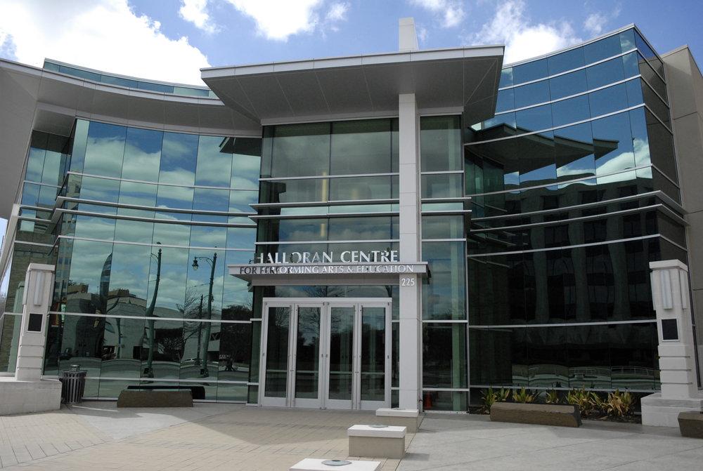 Halloran Centre Exterior Dimensional Letters