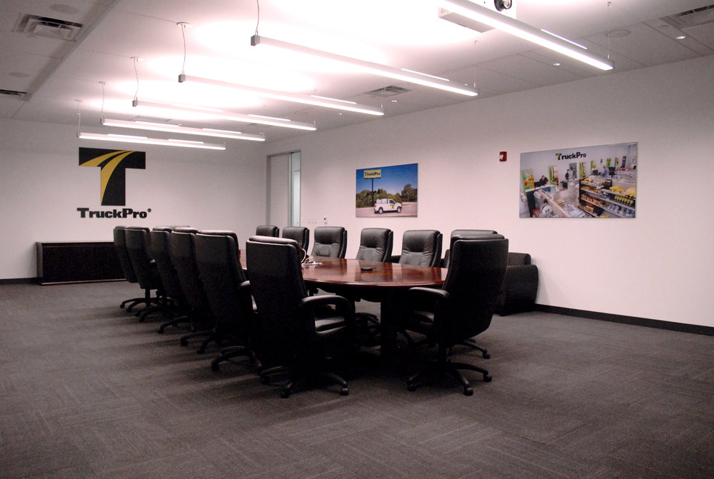 TruckPro Corporate Board Room FlexFit Fabric