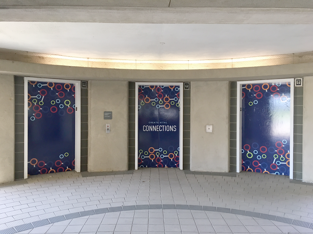 Memphis Medical District Elevator Wraps
