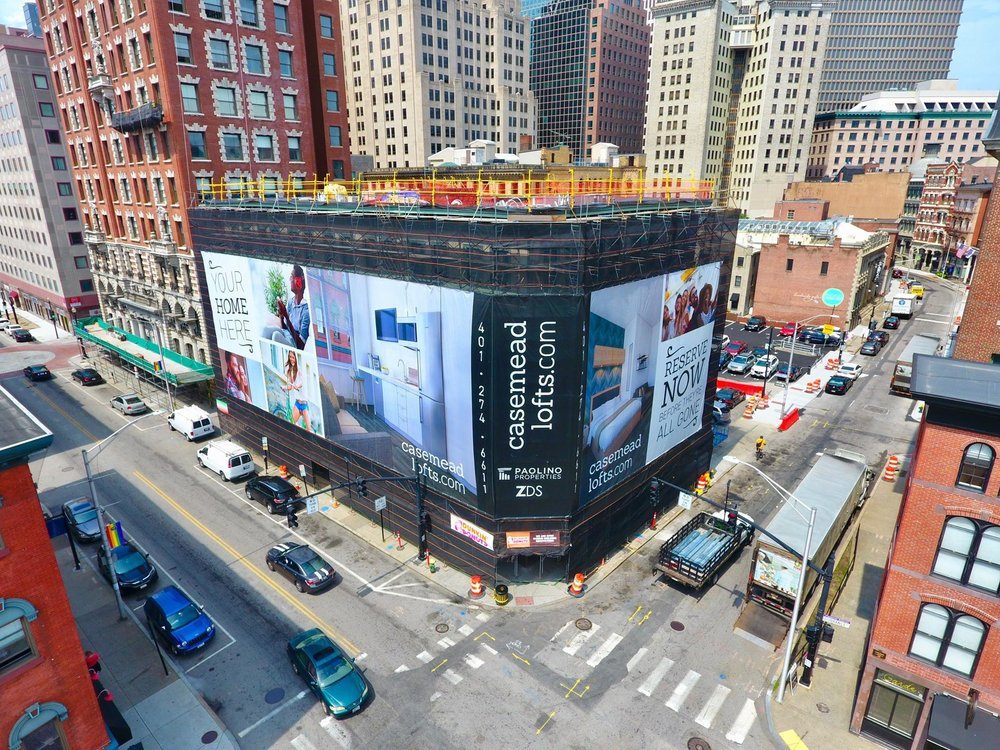 Paolino Properties Building Wrap