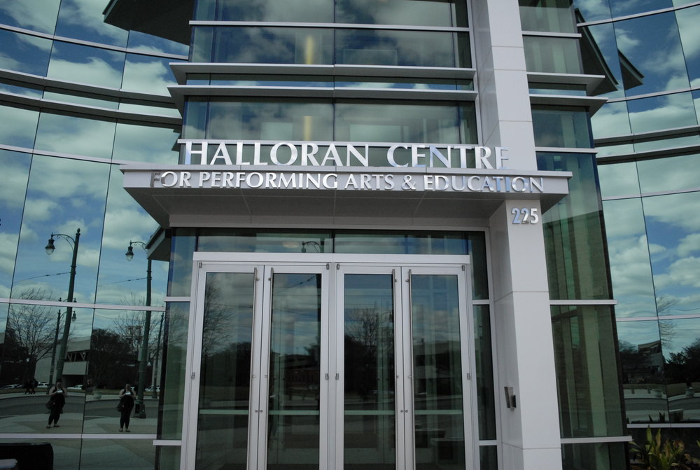 Halloran Centre Dimensional Letters Sign