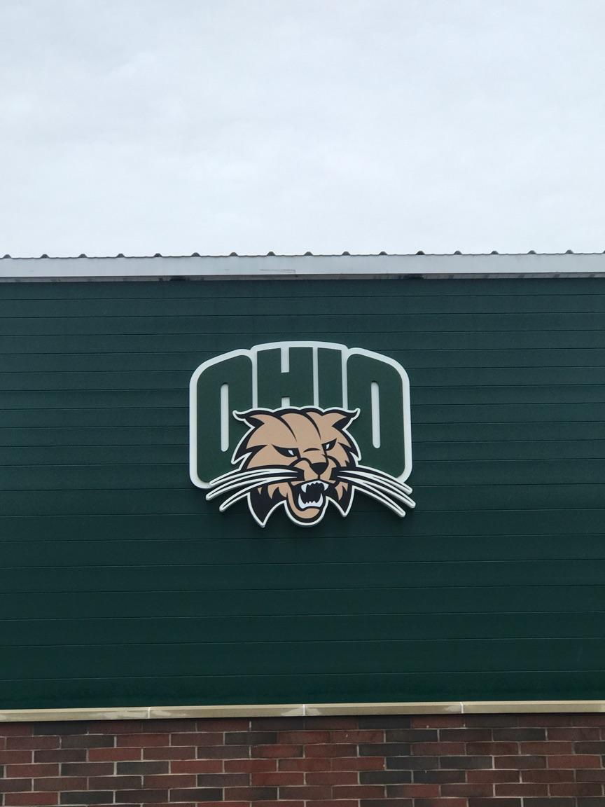 Ohio Wildcats Multi-dimensional Logo Sign