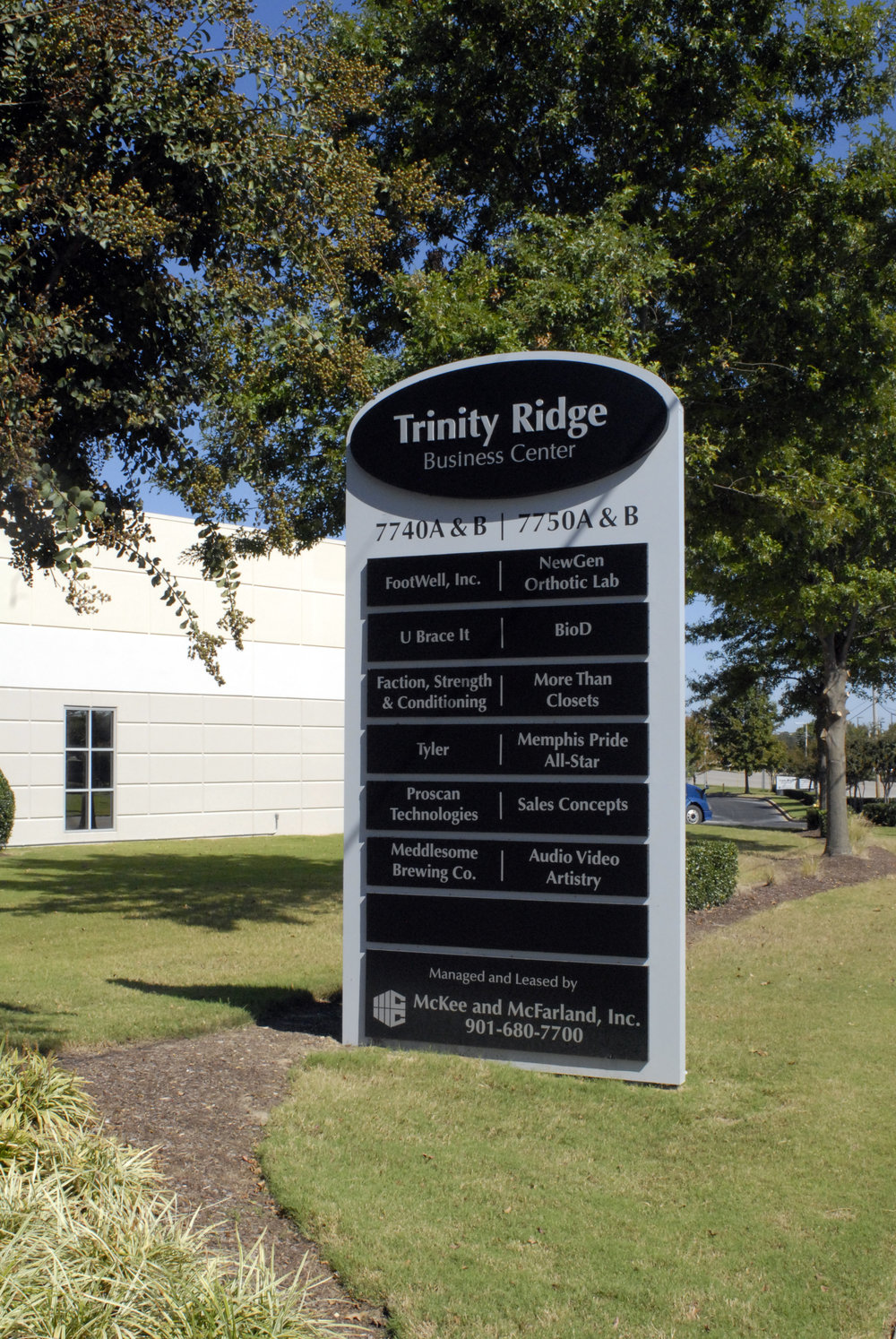Trinity Ridge Pylon Sign