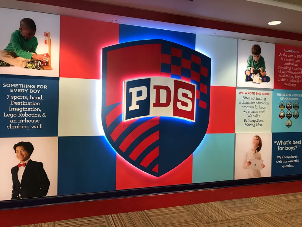 Presbyterian Day School Multi-dimensional Illuminated Logo