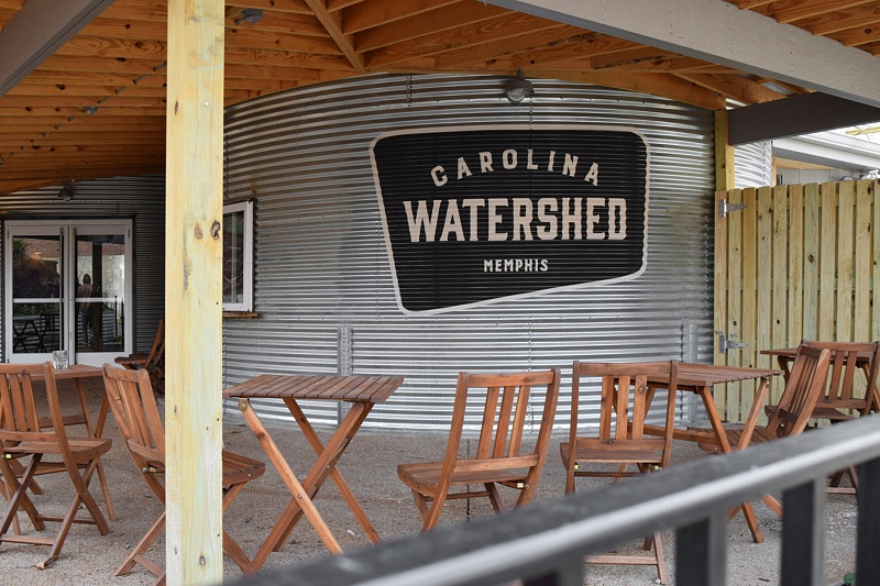 Carolina Watershed Painted Logo