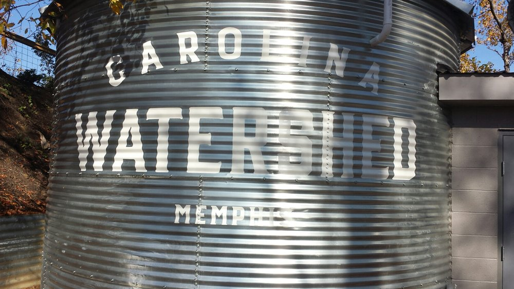 Carolina Watershed Painted Logo Water Tower