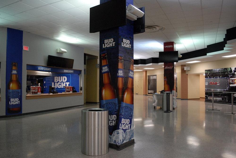 Landers Center Concrete Graphics