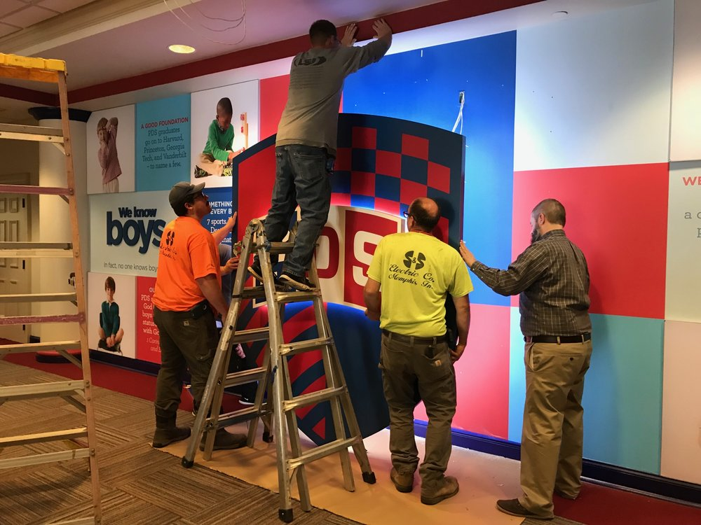Presbyterian-Day-School_Dimensional-Letters-and-Logos_Interior-Signage_LSIGraphics_Memphis-TN_4 ..