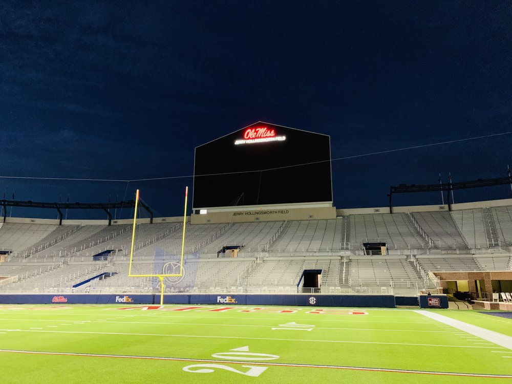 Ole-Miss_Dimensional-Logo-and-Letters_Illuminated-Sign_Stadium-Sign_LSIGraphics_Memphis-TN_4 ..