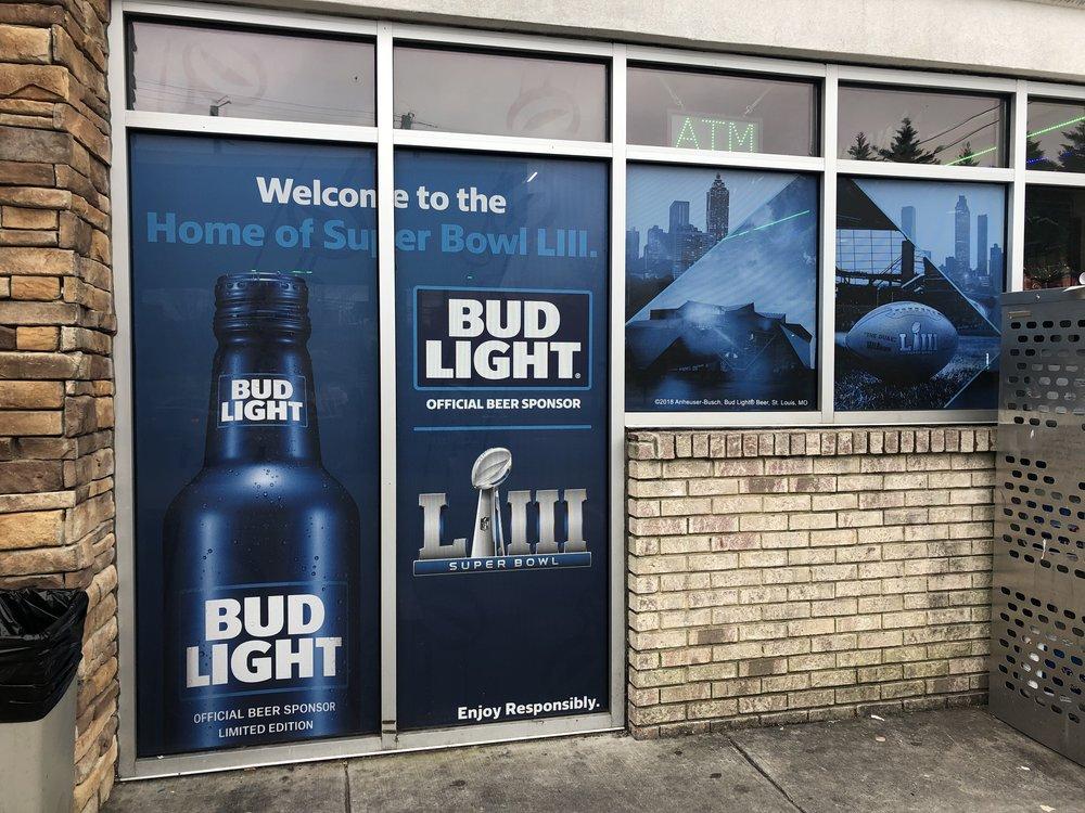 Anheuser-Busch-Super-Bowl-LIII_Circle-K_Window-Graphics_Events_LSIGraphics_Atlanta-GA_2 ..