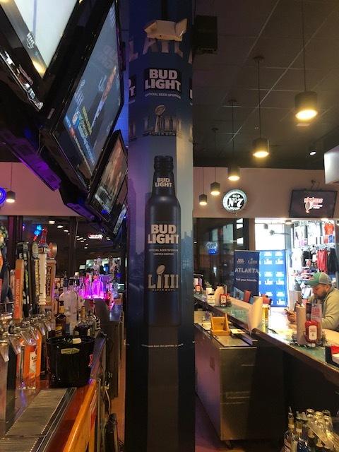 Anheuser-Busch-Super-Bowl-LIII_Hooters-Restaurant_Pole-Graphics_Events_LSIGraphics_Atlanta-GA_2 ..