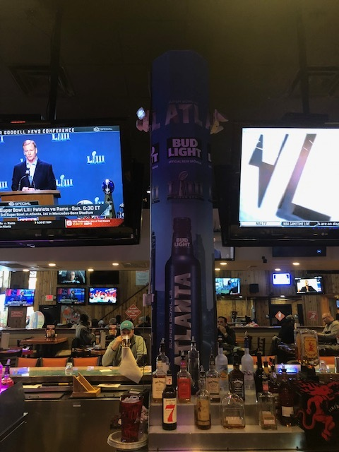 Anheuser-Busch-Super-Bowl-LIII_Hooters-Restaurant_Pole-Graphics_Events_LSIGraphics_Atlanta-GA_4 ..