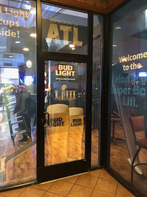 Anheuser-Busch-Super-Bowl-LIII_Hooters-Restaurant_Window-Graphics_Events_LSIGraphics_Atlanta-GA_4 ..